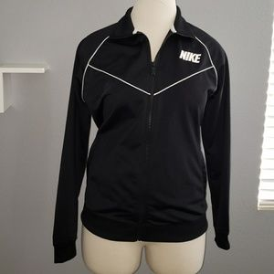 Nike Sweatshirt Front Zippered XL